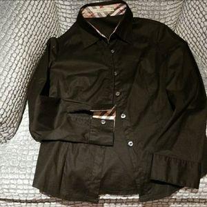 Burberry button long sleeve shirt